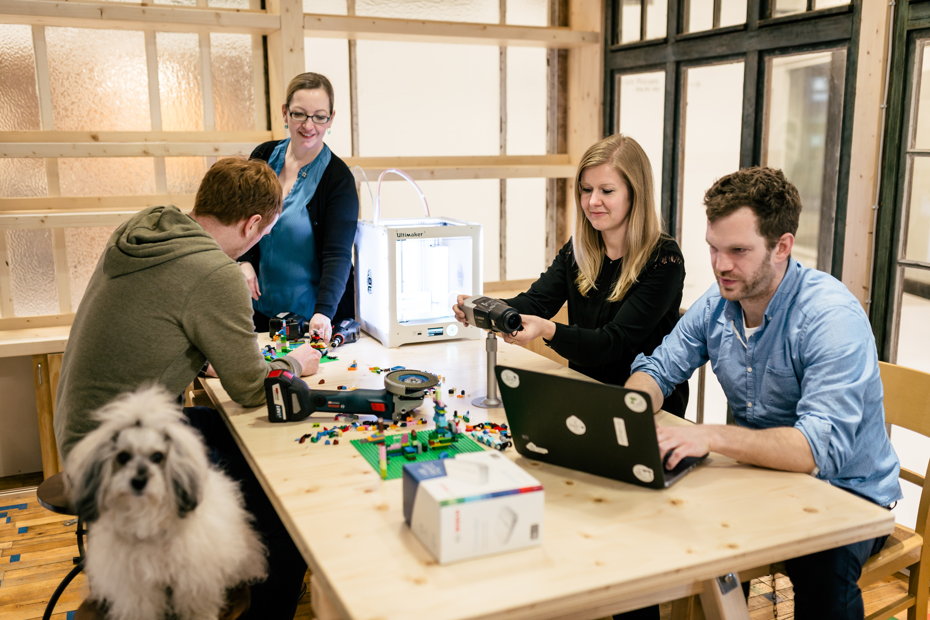 Workshops on the Bosch IoT campus