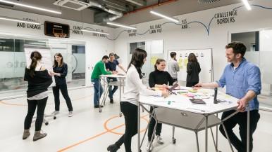 Eröffnung IoT Campus mit Bosch-Chef Denner in Berlin