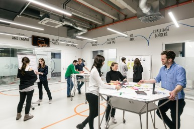 Design thinking on the Bosch IoT campus