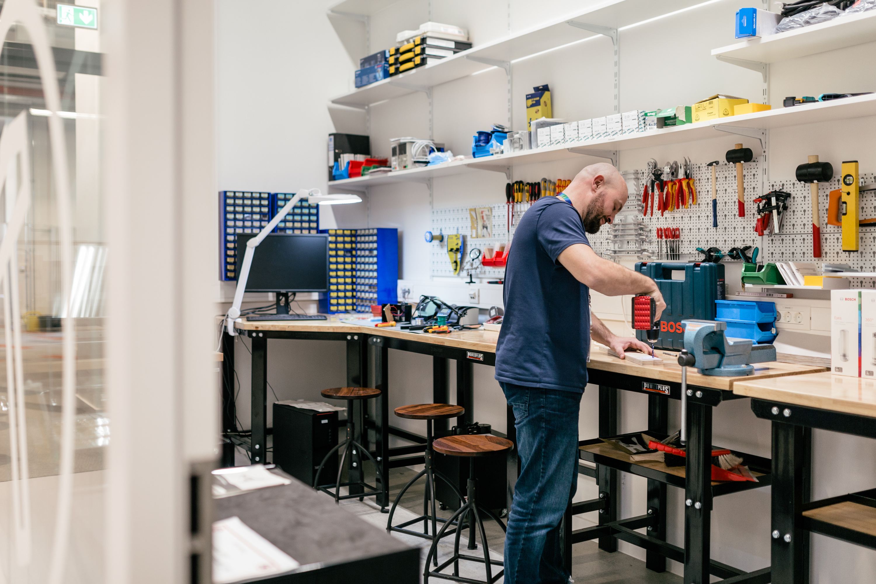 Tools on the Bosch IoT campus