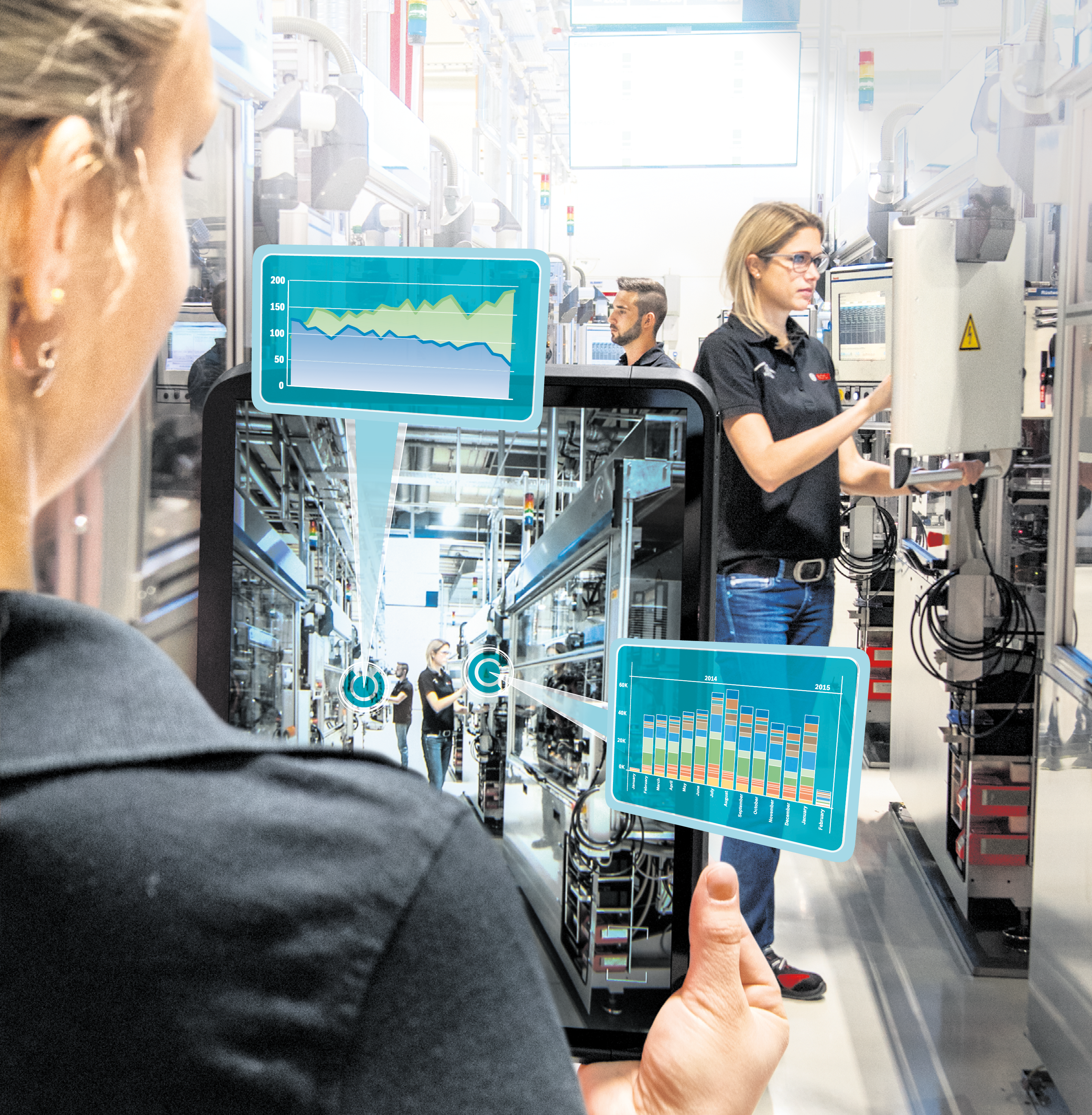 Industry 4.0 finds its way into Bosch plants globally