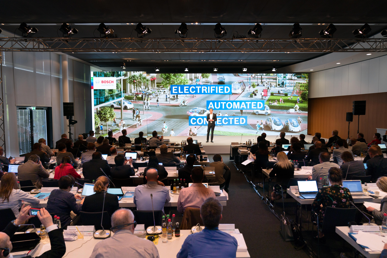 Annual press conference 2018: Dr. Volkmar Denner