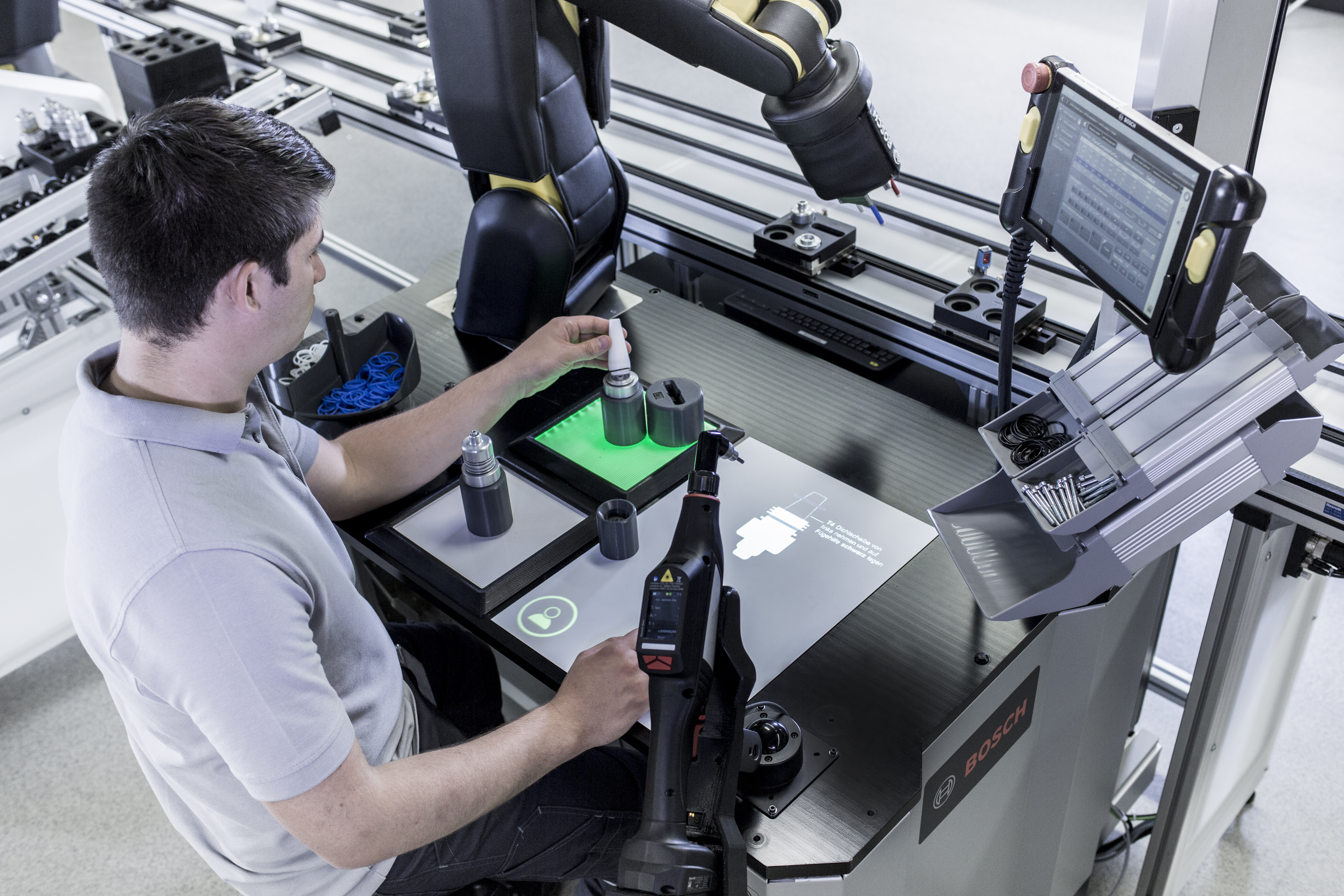 Bosch is turning robots into colleagues