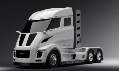 The powertrain for the electric long-haul truck