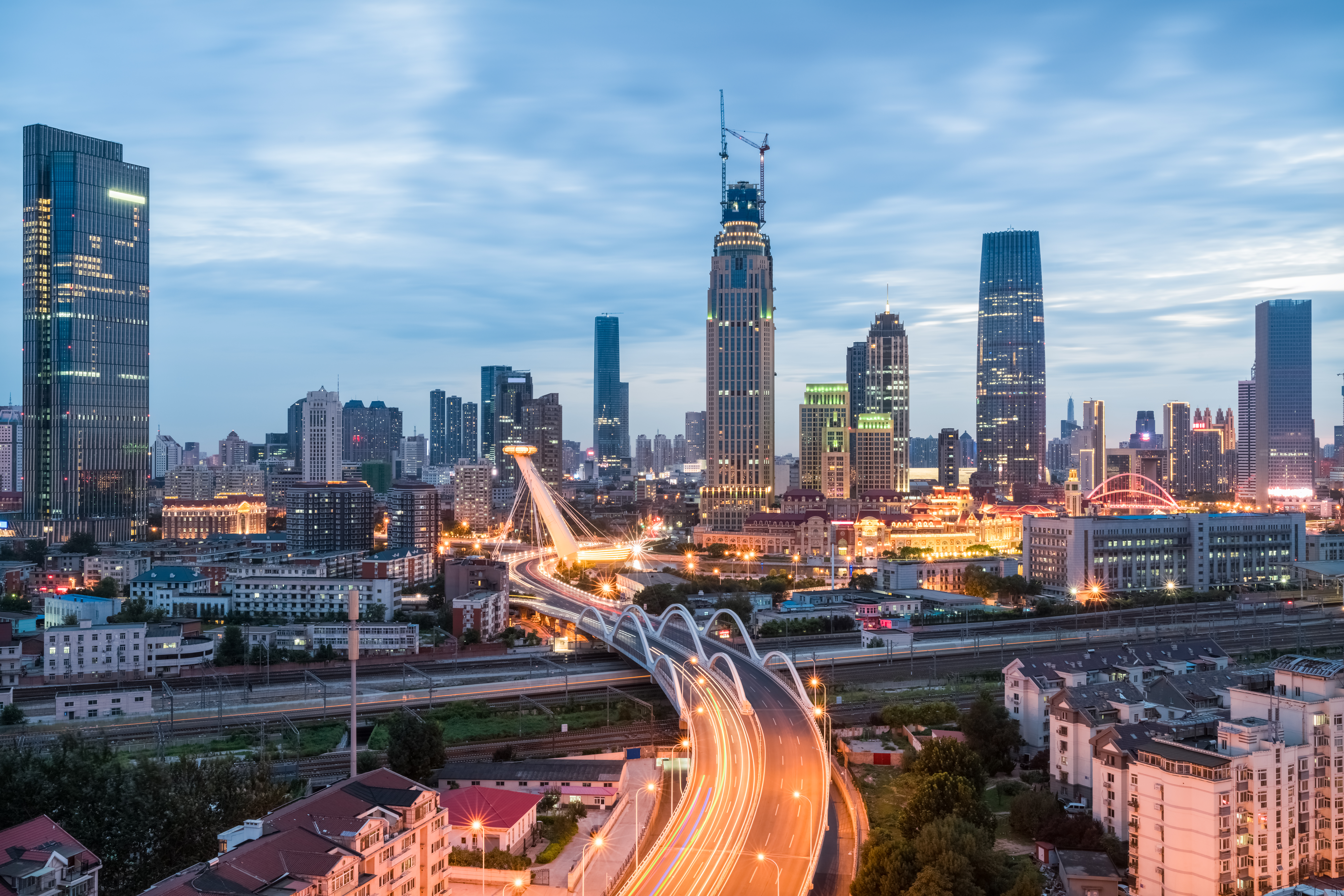 Tianjin will become a Smart City