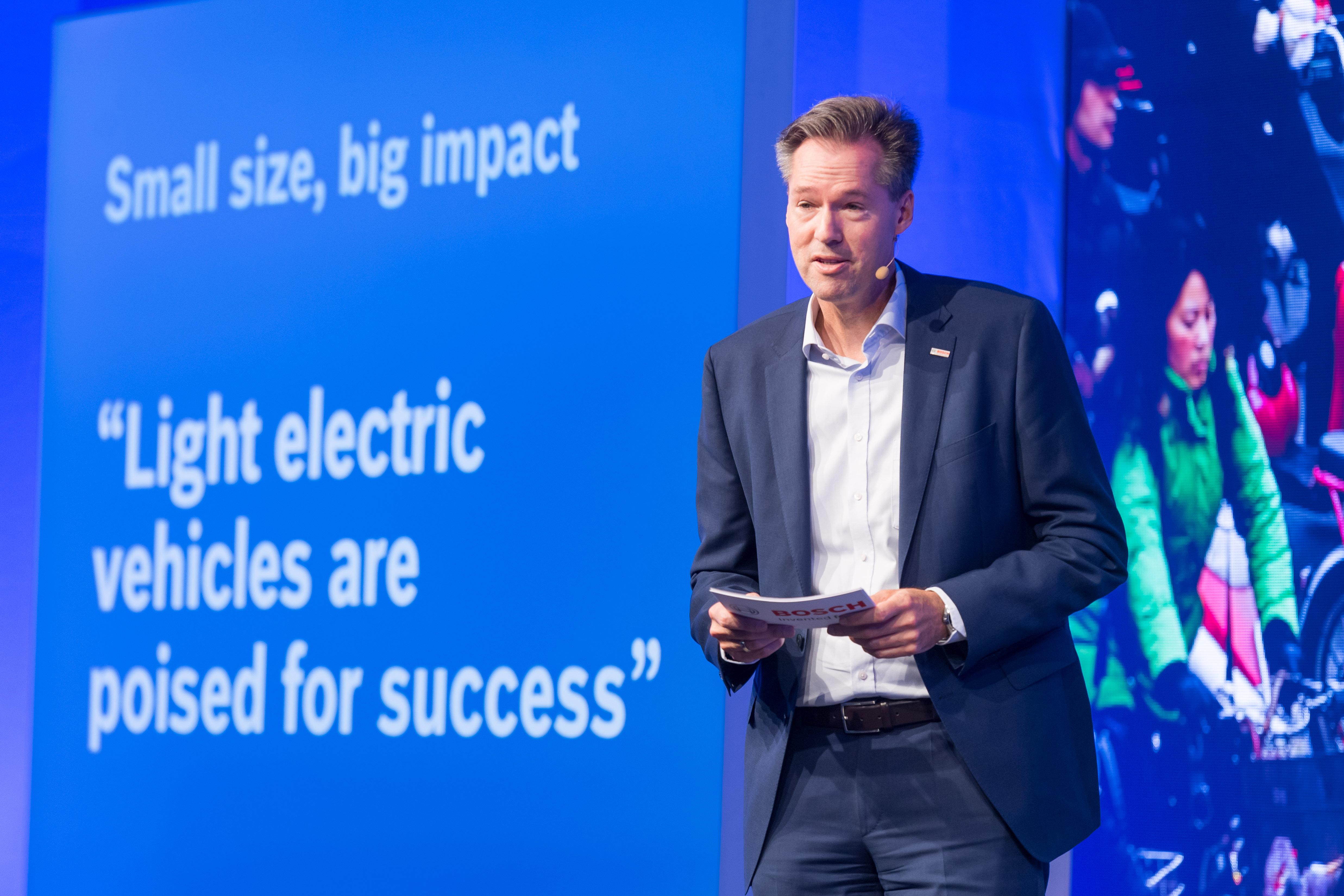 Dr. Markus Heyn, member of the board of management of Robert Bosch GmbH