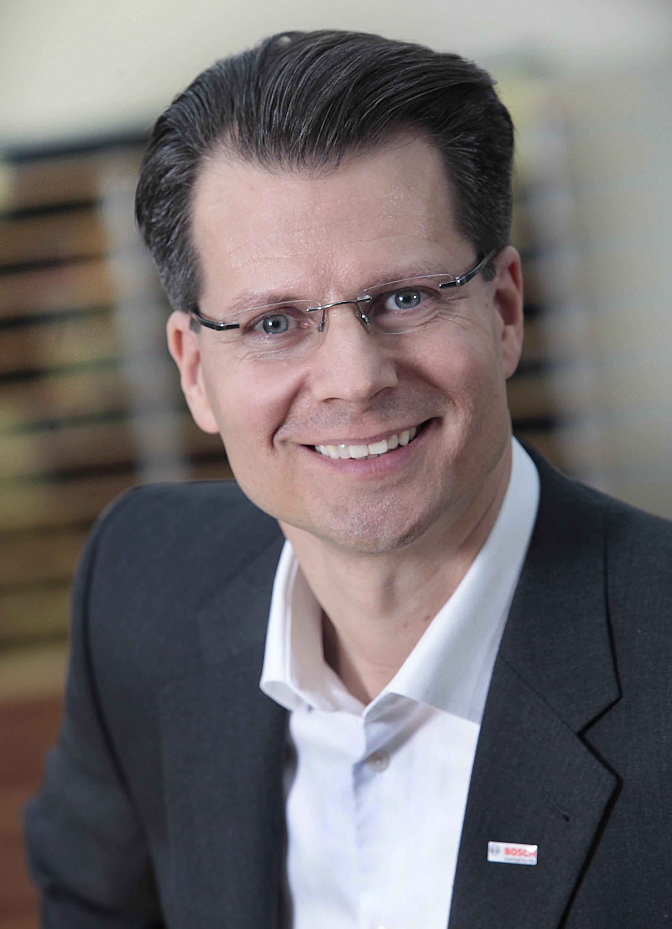 Henning von Boxberg, President of the Robert Bosch Power Tools GmbH