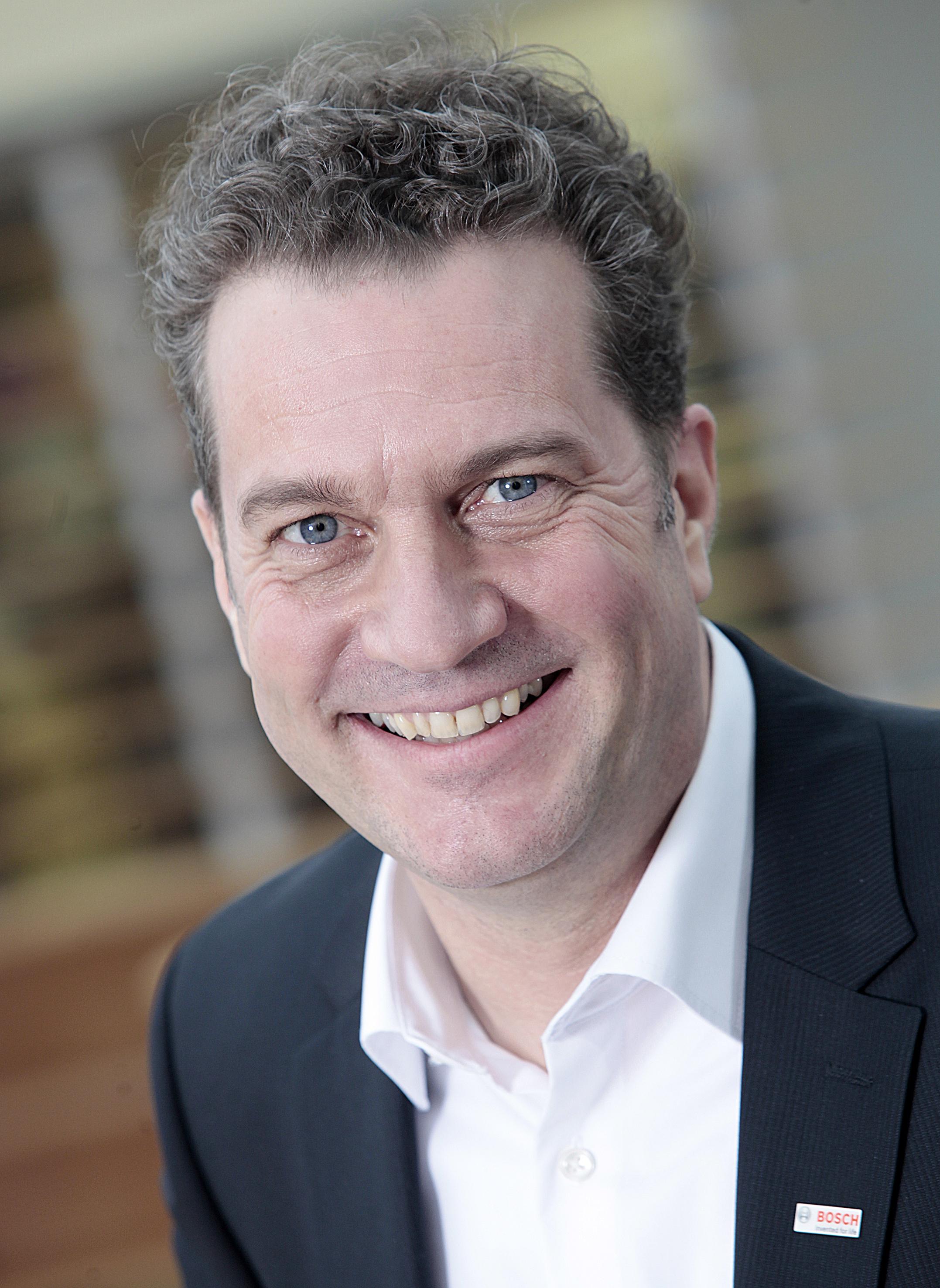 Henk Becker, Geschäftsführer der Robert Bosch Power Tools GmbH