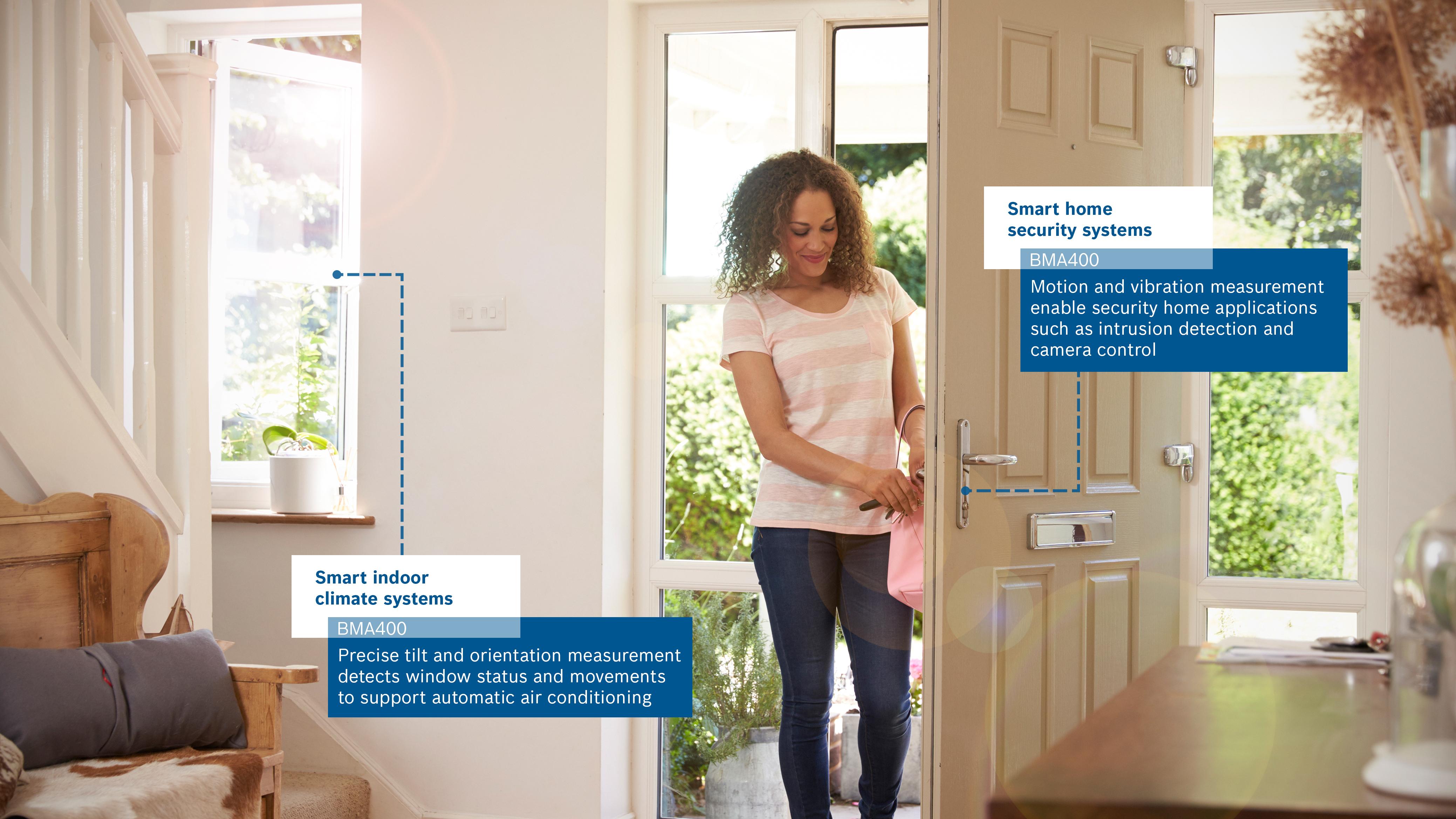The BMA400 sensor makes houses even smarter