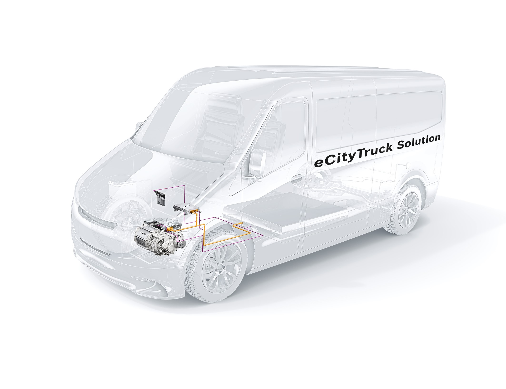 Powertrain solutions for commercial vehicles