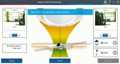 Verbeterd Bosch DAS 3000-kalibratietoestel voor rijhulpsystemen,Verbeterd Bosch  ...