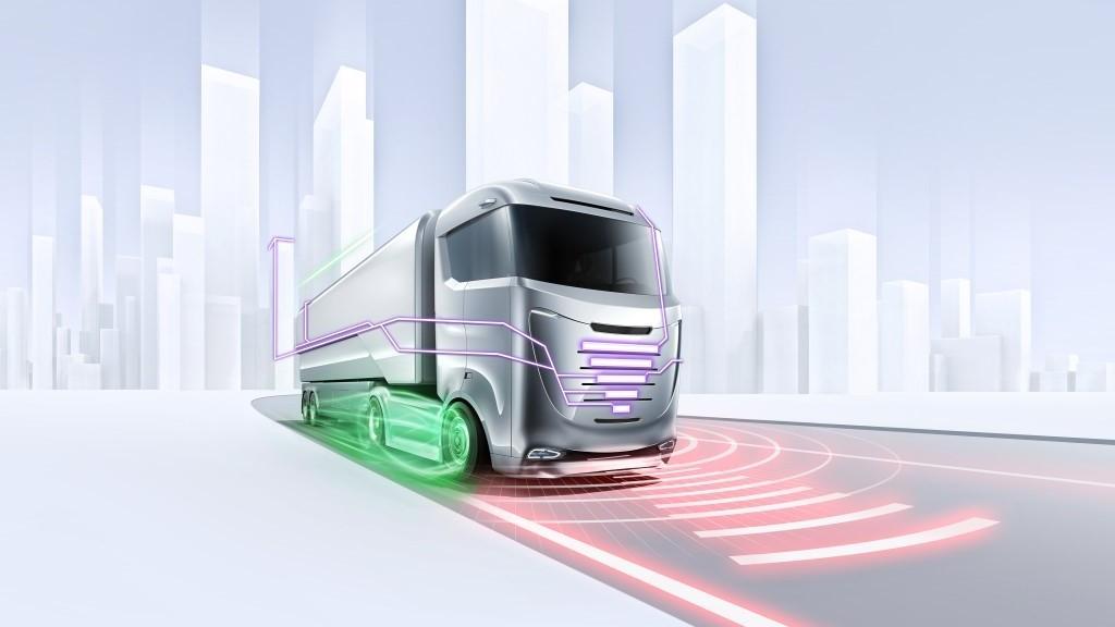 Geautomatiseerd, geconnecteerd en geëlektrificeerd: Bosch baant nieuwe wegen voor goederenverkeer