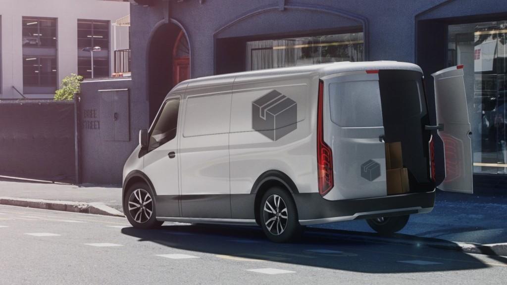 Volledig Geladen Bosch Brengt Elektrische Bestelwagens Op De Weg