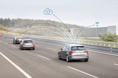 Bosch en Veniam garanderen een naadloze vehicle-to-everything communicatie