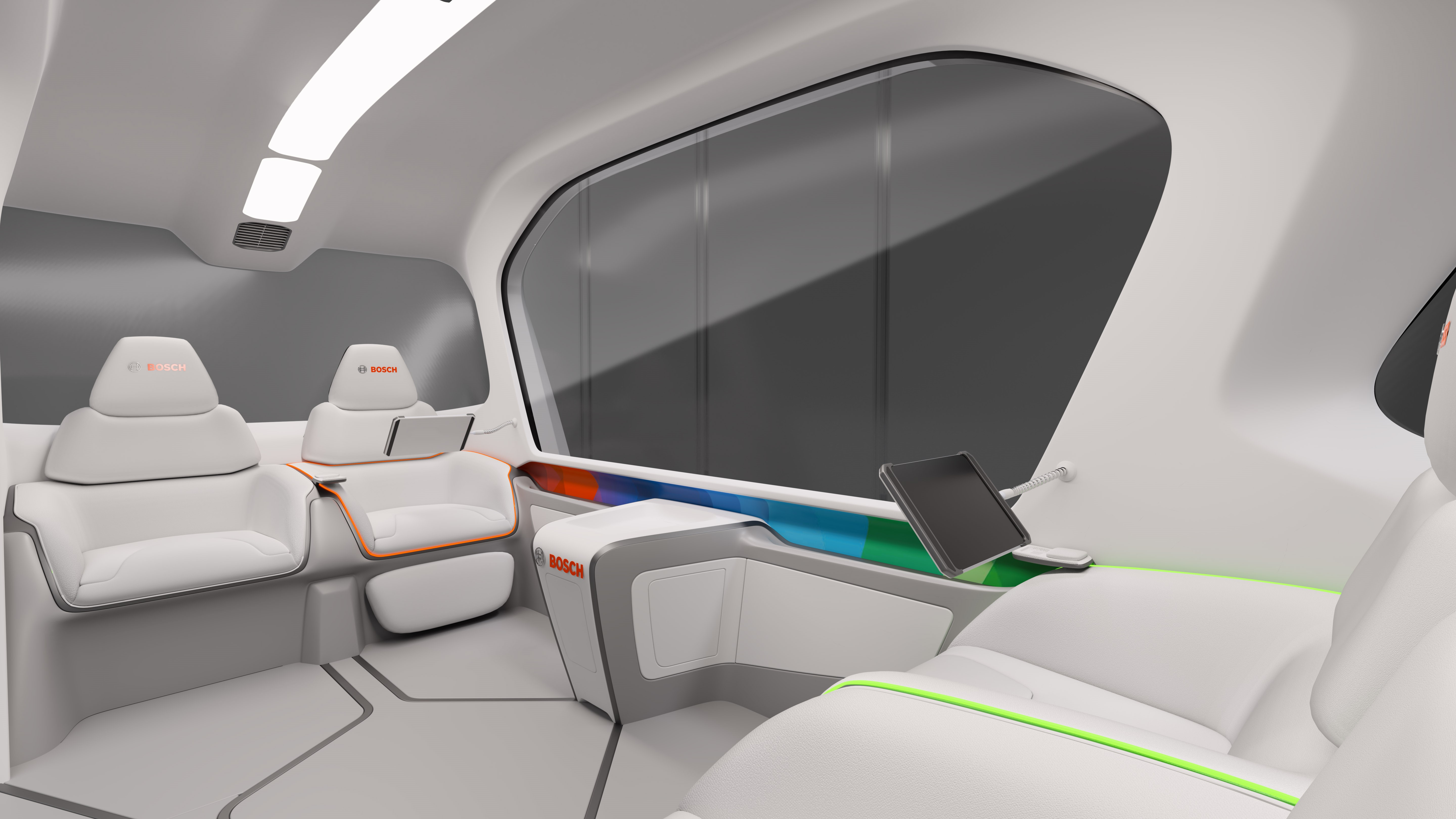Debut of new concept shuttle at CES 2019 in Las Vegas