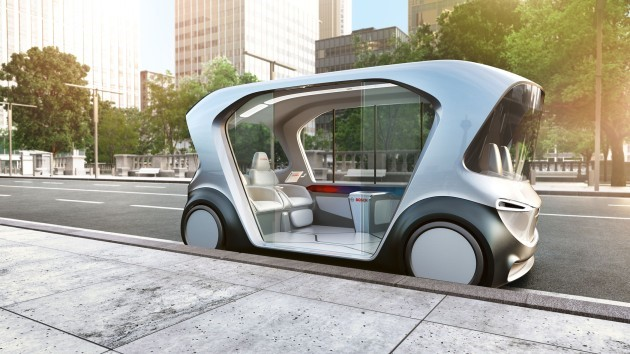 Bosch concept vehicle for a new kind of mobility