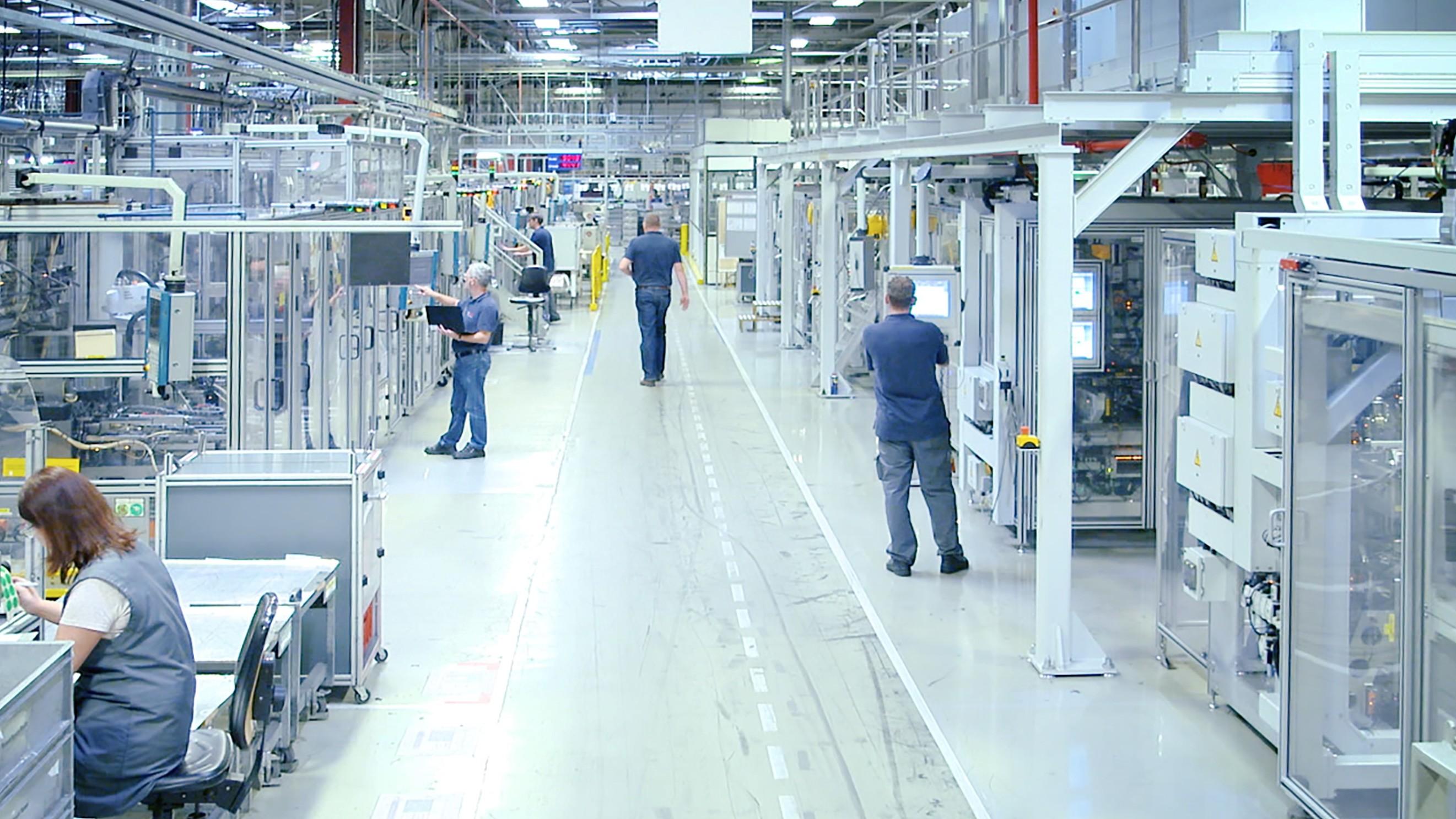 Factory of the future Tienen award Bosch