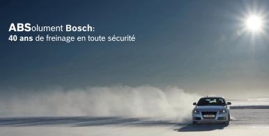 Bosch fête les 40 ans de l'ABS
