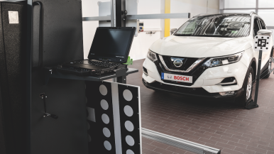 Dispositif de calibration ADAS caméras et radars Bosch DAS 3000