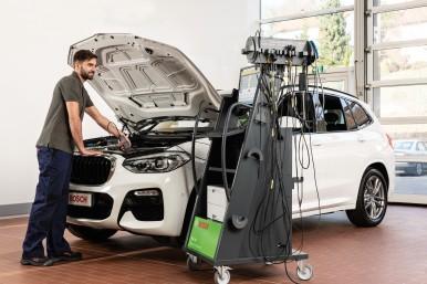 Bosch présente le système de mesure et de diagnostic FSA 740 et ses améliorations techniques