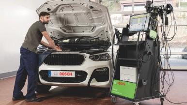 Bosch présente le système de mesure et de diagnostic FSA 740 et ses améliorations technique