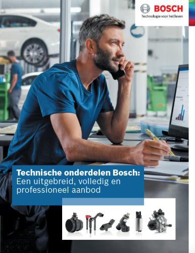 Nouvelle brochure pièces techniques Bosch