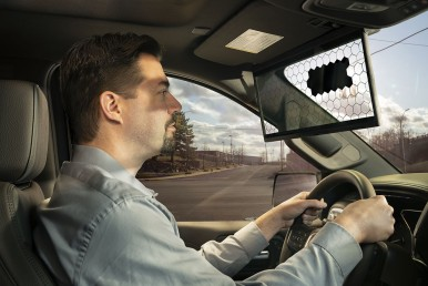 Bosch's Virtual Visor
