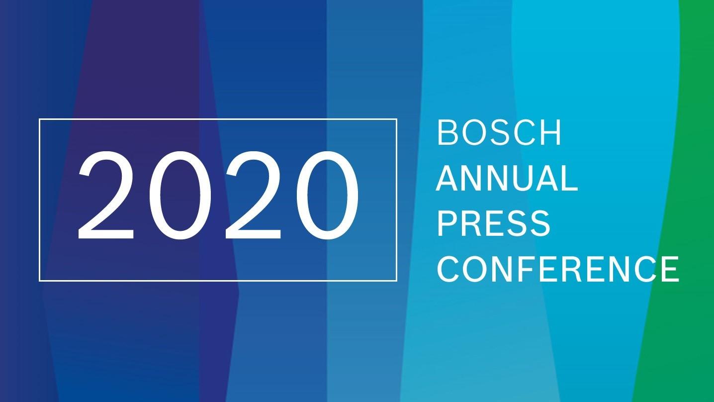 jaarlijkse persconferentie Bosch