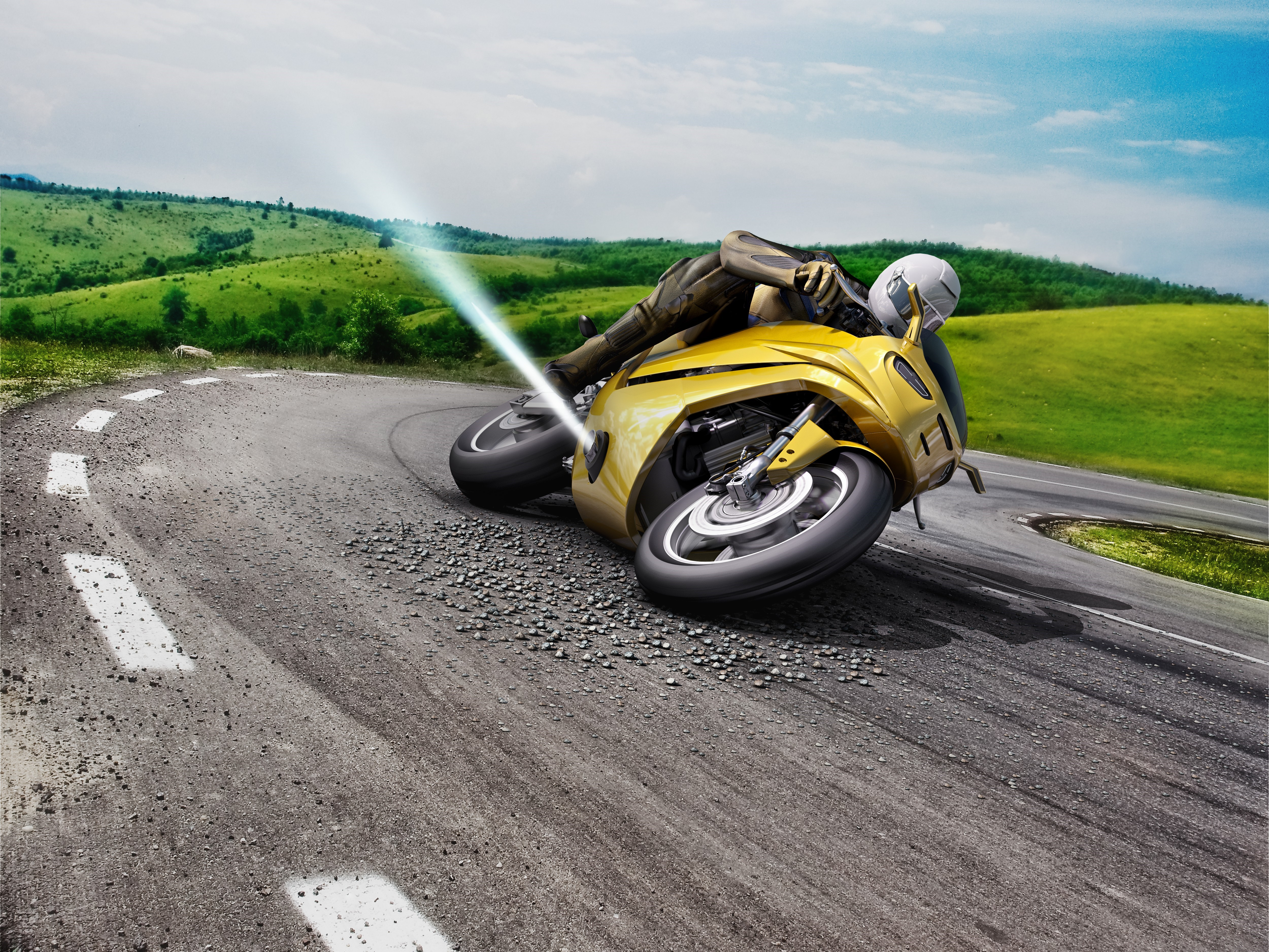 MSC (motorcycle stability control)