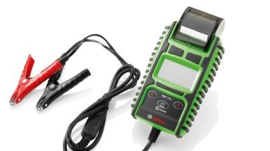 Nouveau testeur de batteries Bosch BAT 115 : rapide et efficace pour batteries 6 ...