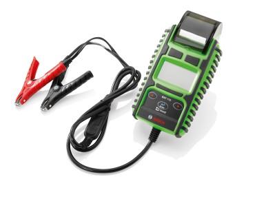 Nouveau testeur de batteries Bosch BAT 115 : rapide et efficace pour batteries 6V et 12V