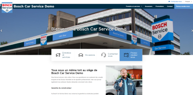 Les partenaires d'AutoCrew et de Bosch Car Service au Benelux reçoivent un nouveau site web