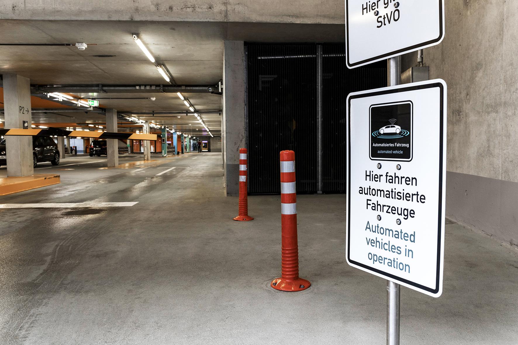A garagem do futuro