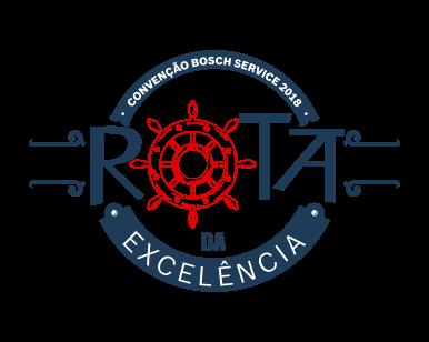 Logo Convenção Bosch Service - Rota da Excelência