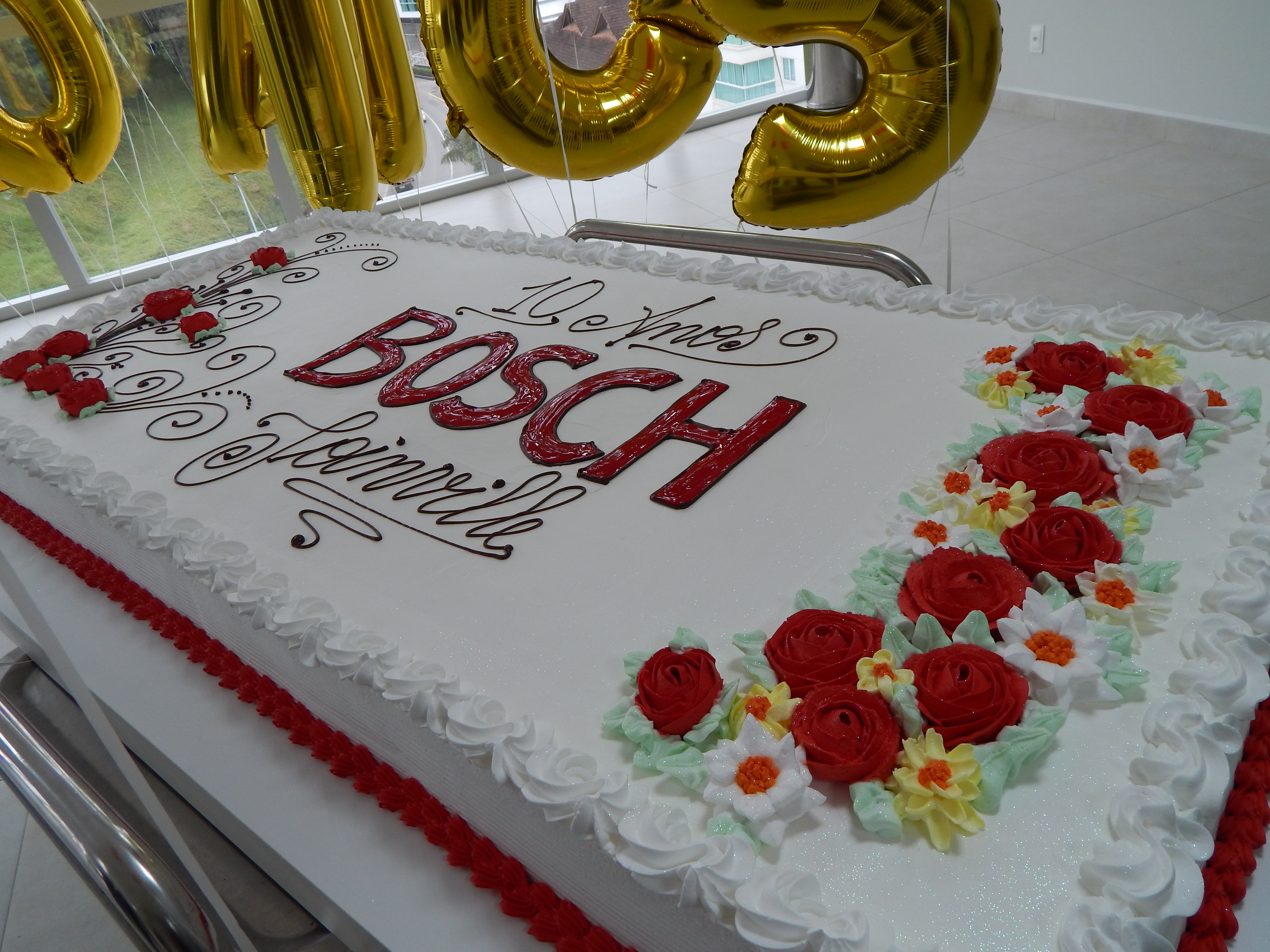 Bosch comemora 10 anos em Joinville