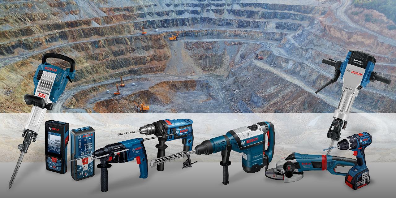 Bosch destaca ferramentas elétricas na Exposibram 2019