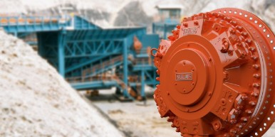 Bosch destaca soluções para diferentes frentes de trabalho em uma mina na Exposibram 2019