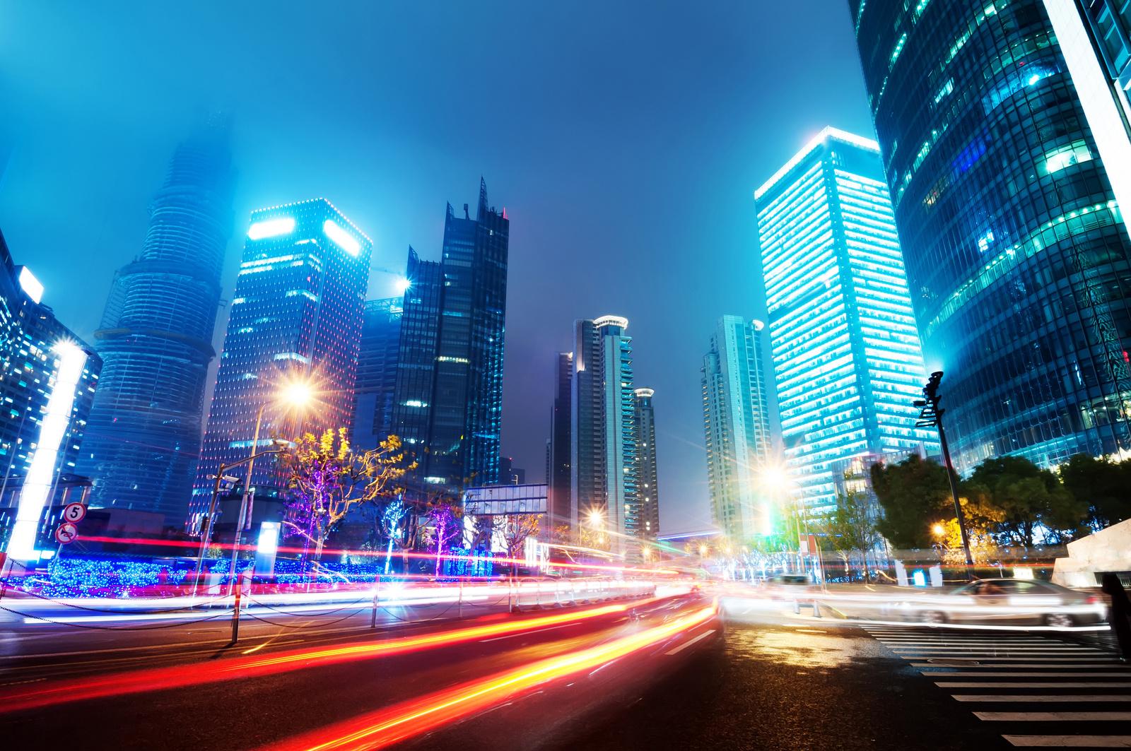Imagem conceitual: cidades inteligentes