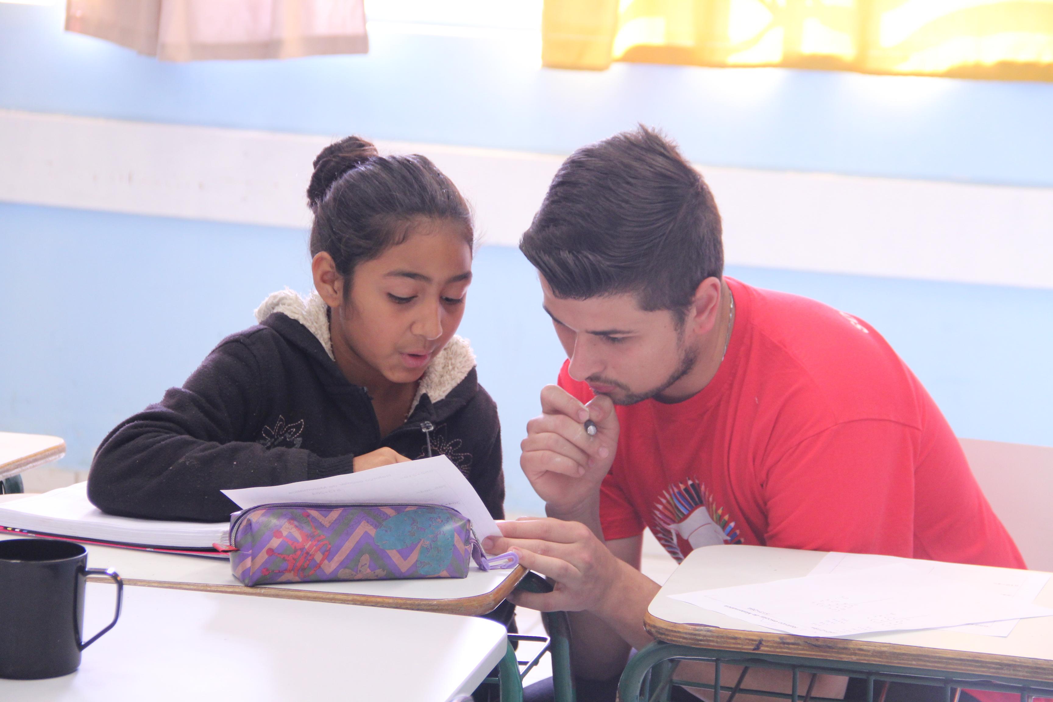 Alunos do 6º ano têm aulas de reforço em Matemática e Português