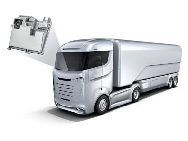 Caminhão equipado com câmera ulti purpose camera multi purpose