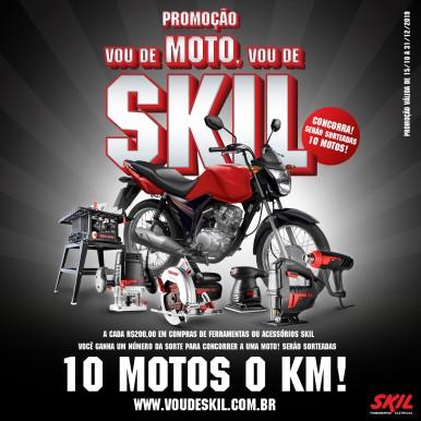 """Promoção """"Vou de Moto, Vou de Skil"""""""