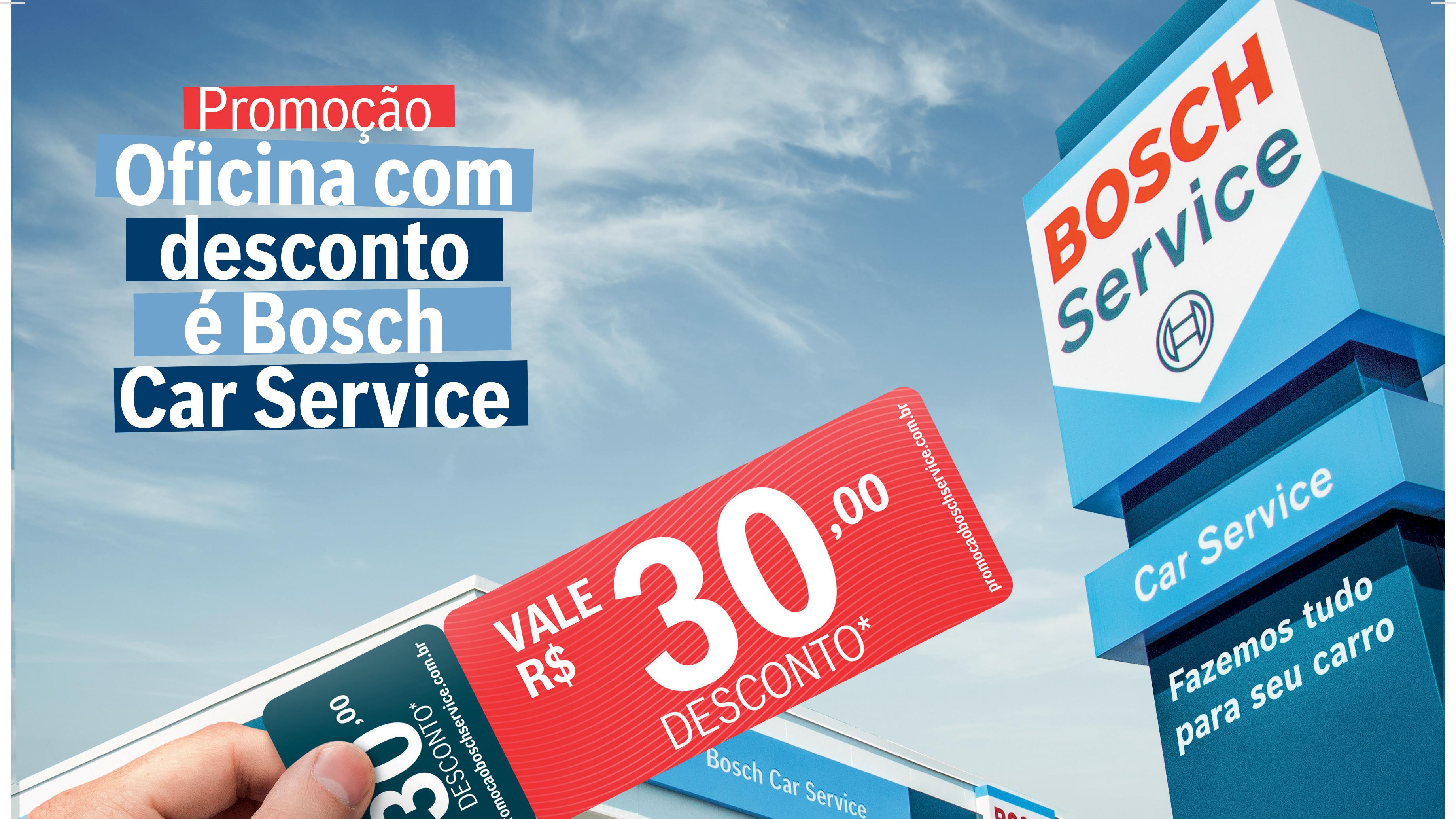 Rede Bosch Service lança promoção para incentivar a manutenção preventiva