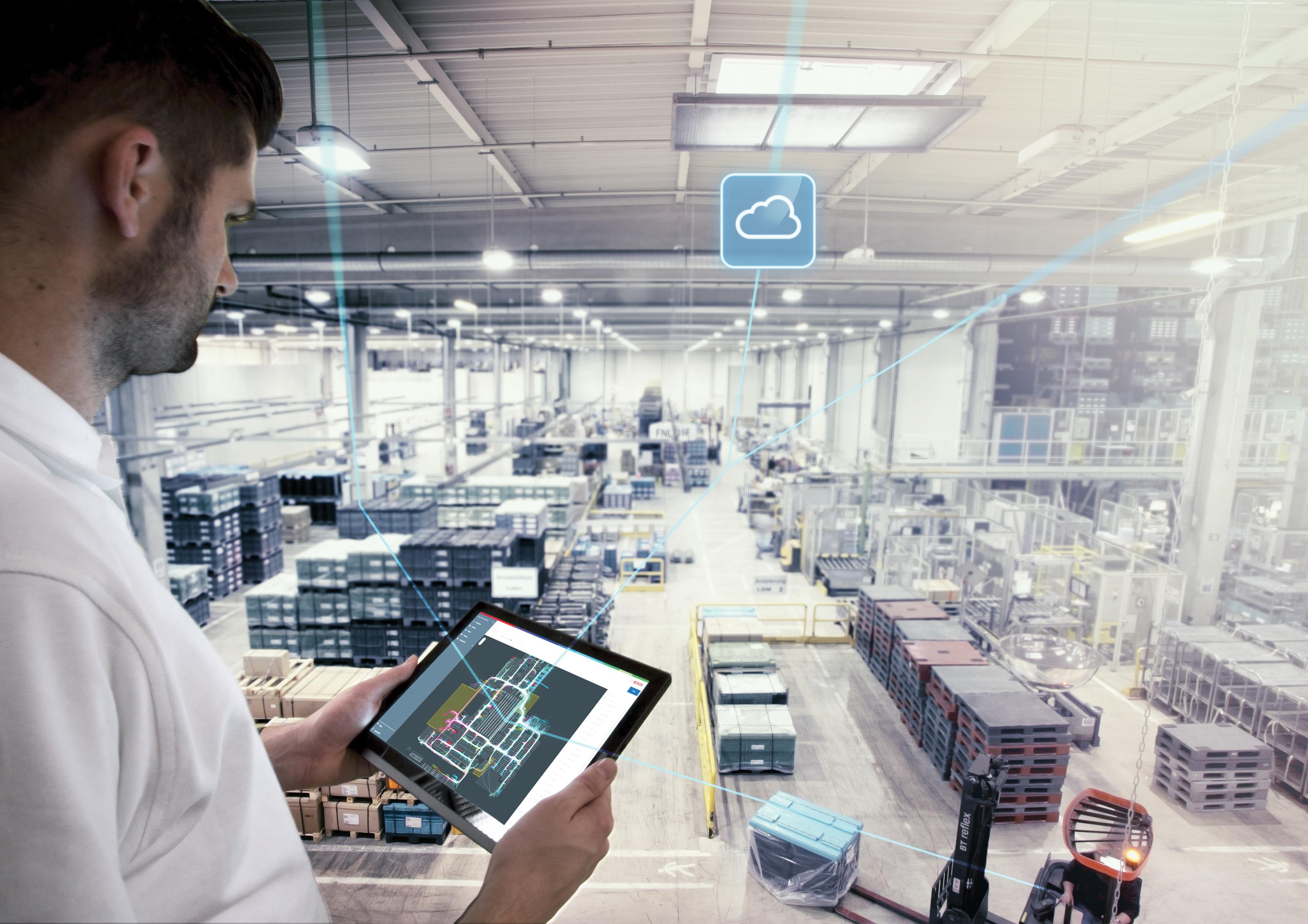 Soluções de software para o setor industrial