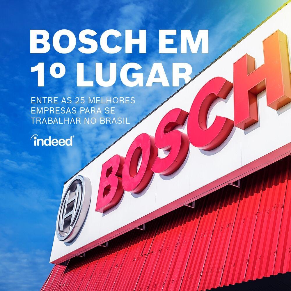 Bosch é eleita a melhor empresa para se trabalhar