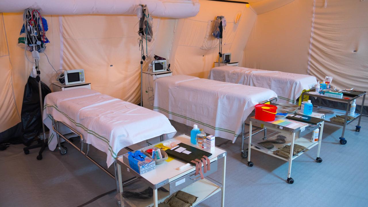 Proatividade em hospitais de campanha