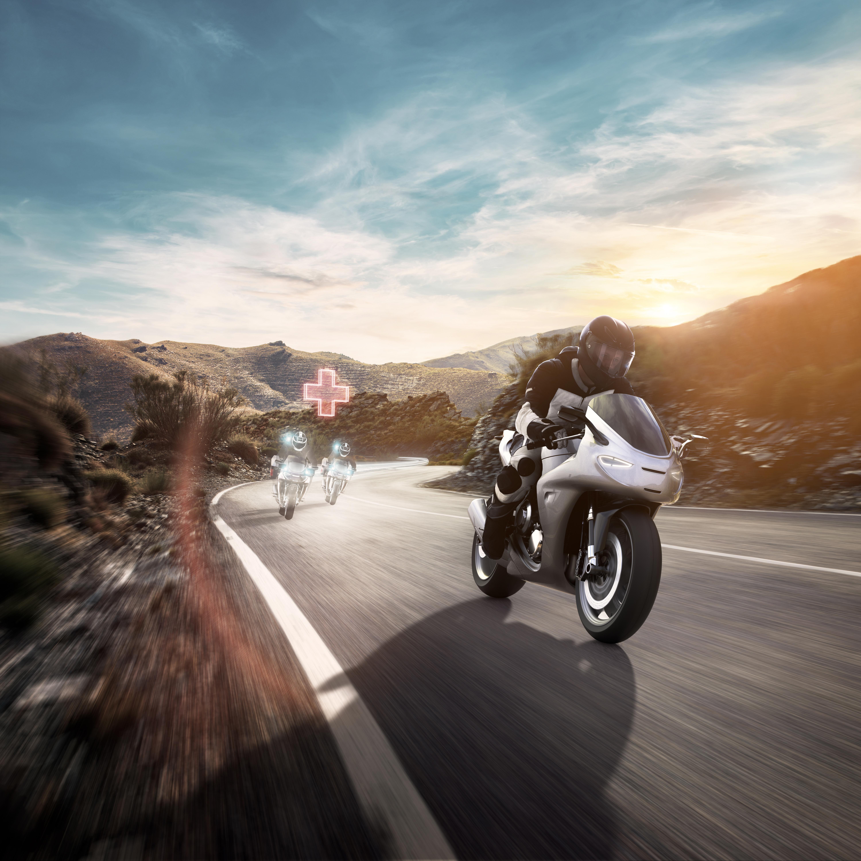 Melhorar a segurança dos motociclistas é uma preocupação da Bosch há muitos anos