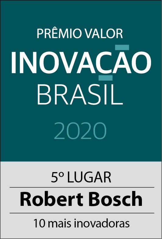 Bosch é eleita a quinta empresa mais inovadora do país