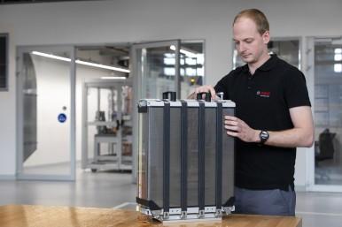 Bosch está no caminho para desenvolver um powertrain com células de combustível