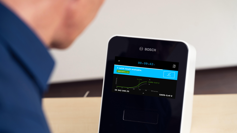 Softwares mais avançados: teste rápido de coronavírus da Bosch agora pode detectar amostras positivas em menos de 30 minutos