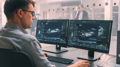 O software terá um papel cada vez mais importante nas futuras gerações de veículos.